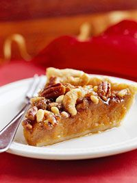 Mixed-Nut Maple Pumpkin Pie Recipe