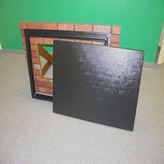 Crawl Space Access Door opening within the frame; Total because of extra frame on each side for mounting Over the opening against the wall, Black Crawl Space Access Door, Simply Learning, Easy Fill, Portable Fan, Space Projects, Vent Covers, Shopping Sites, Outdoor Cooking, Best Sellers