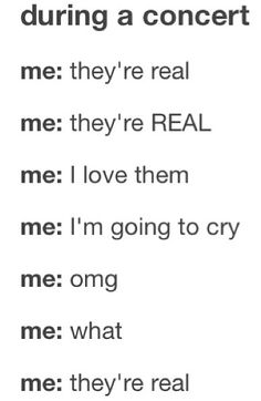 This is going to be me. The entire time... I'm going to be breathing the same air... Omg