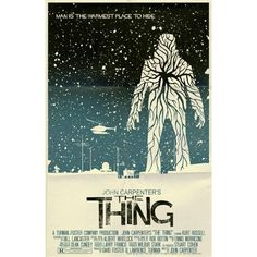 Image result for the thing minimalist movie poster