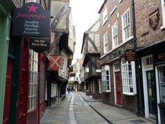The Shambles in York, North Yorkshire