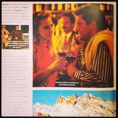 I Cortina kan man ha såhär flashigt nattliv efter dagens skidåkning. :D #tbt #throwbackthursday #katalogbild #2003 #fancypancy #cortina #stsalpresor