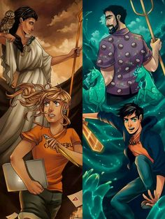 athena, annabeth, and percy image Arte Percy Jackson, Percy Jackson Drawings, Dibujos Percy Jackson, Percy Jackson Wallpaper, Percy Jackson Annabeth Chase, Percy Jackson Characters, Percy Jackson Quotes, Percy And Annabeth, Percy Jackson Books