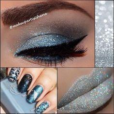 Thinking ahead, maybe NYE makeup inspiration