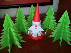 Ёлка из бумаги. Оригами. DIY. Christmas tree - YouTube