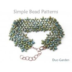 SuperDuo Bracelet Tutorial DIY Jewelry Making by Simple Bead Patterns