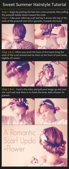 Sweet Summer Hairstyle Tutorial