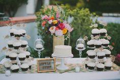 white dessert table http://www.weddingchicks.com/2013/09/16/malibu-beach-wedding/