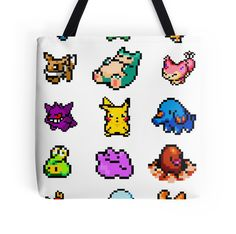 Pixel Pokemon sticke