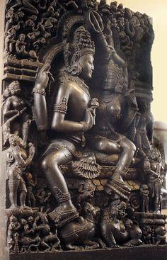 Shiva Shakti, Shiva Hindu, Tantra, Indian Temple Architecture, Hindu Statues, Spiritual Paintings, Apocalypse Art, Lord Shiva Painting, Spiritual Images
