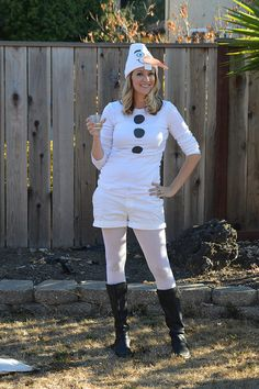 Olaf inspired teen costume for homecoming week costumes diy olaf halloween costume teal in motion solutioingenieria Image collections