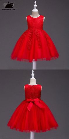 6fce6695f Kids Infant Girl Flower Petals Dress Children Bridesmaid Toddler ...