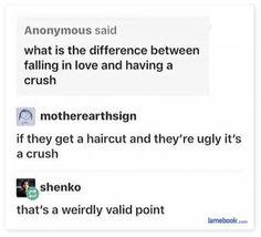 Funny Crush Memes, Stupid Funny Memes, Hilarious, It's Funny, Funny Stuff, Crush Vs Love, Crushes Tumblr, Crush Stories, Humor
