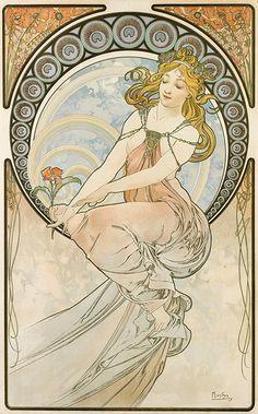 Alfons Mucha - Les Arts 1898