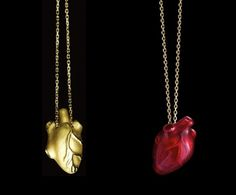 more heart necklaces....less anatomically correct