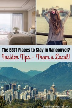 Knowing the best places to stay in Vancouver can be tricky! Take these great tips from a local and learn where to stay in Vancouver on your vacation! Canada Vancouver, Vancouver Hotels, Visit Vancouver, Vancouver Travel, Canada Winter, Canada Holiday, Winter Snow, Quebec, World Travel Guide