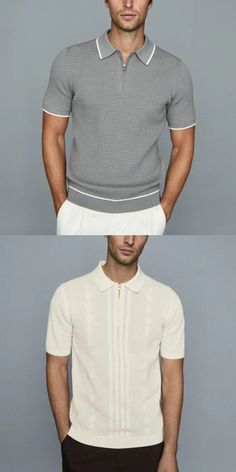 Business Casual Attire For Men, Men Casual, Summer Fashion Outfits, Winter Fashion, Sale Clothes, Striped Polo Shirt, Mens Fashion, Suit Fashion, Dad To Be Shirts
