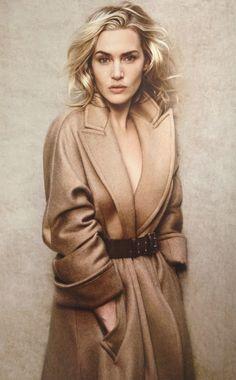 Kate Winslet. Elle France, November 2011