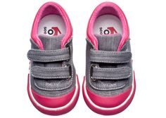 See Kai Run Sneaker Rayne Gray from seekairun.com - cool baby shoes, toddler shoes, kids shoes and baby booties.