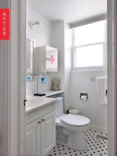 Before & After: A Fresh New Look For Cedrick & Sunny's Bathroom | Apartment Therapy