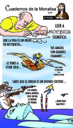 Cuadernos de la Monalisa: Leer a Moebius, por Rayma