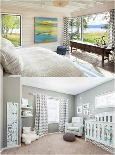 Dress Your Windows with Chevron Curtains