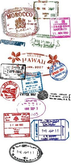 Passport Stamp Collection