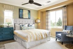 Residence Two - Master Bedroom Palmilla by Melia Homes #MeliaHomes #CostaMesa #NewHome