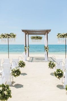 Jamaica Wedding, Beach Wedding Reception, Beach Ceremony, Beach Wedding Decorations, Wedding Ceremony, Wedding Venues, Wedding On The Beach, Wedding Table, Small Beach Weddings