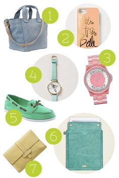 Pretty Pastel Accessories For Spring. <3