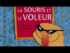 Livre audio pour enfants - La souris et le voleur - YouTube