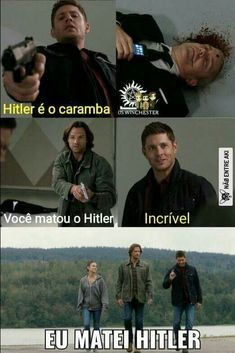 Dean sendo o Dean Supernatural Series, Supernatural Bloopers, Supernatural Tattoo, Supernatural Imagines, Supernatural Wallpaper, Supernatural Funny, Dean Castiel, Sam Dean, Spn Memes