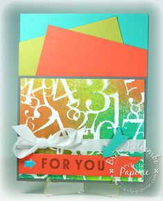 Numbers For You - Color Throwdown #305 (by Broni Holcombe) #eP, #eclecticPaperie, CTD, Color Throwdown