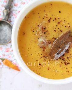 #Vegan pumpkin #soup #recipe