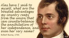 Robert Burns was right!