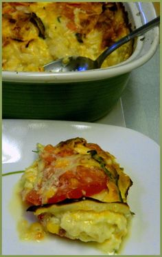 BIZZY BAKES: Corn Tortilla Casserole