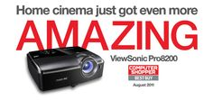 ViewSonic Pro8200 online banner 990x467 pixels Home Cinemas, Cool Things To Buy, Banner, Cool Stuff To Buy, Banner Stands, Banners
