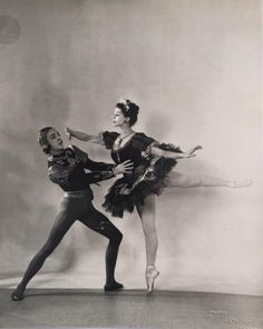 Original 1930s Studio Photo by Gordon Anthony Margot Fonteyn & Helpmann? Ballet