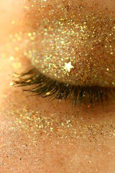 eye glitter !!