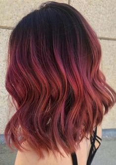 Red Plum Hair Color