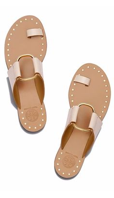 4e1612a6a52f7 Sandals Summer - Tory Burch Brannan Studded Sandal - There is nothing more  comfortable and cool to wear on your feet during the heat season than some  flat ...