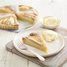 Pear and Almond Tart, a delicious recipe from the new M&S app.