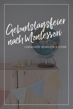 DIY // Geburtstagsfeier nach Montessori