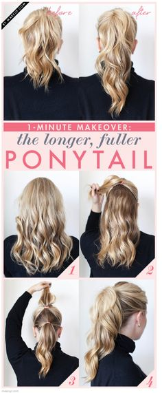 Preppy pony.  Reminds me of Emma swan's ponytail from Once Upon A Time