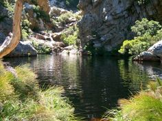 This is a popular and easy hike to a series of mountain pools in a kloof. I have always known it as Crystal Pools, but it officially forms part of the Kogelberg Biosphere Reserve, and you are hikin… South Africa, Hiking, Crystals, Rivers, Pools, Places, Water, Landscapes, African
