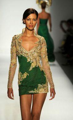 Farah Angsana lace dress