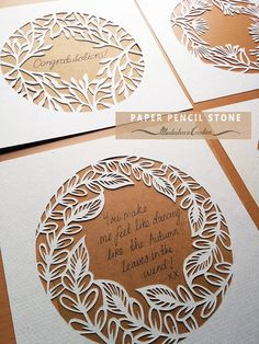 Botanical Frame 3 Papercut Template by PaperPencilStone on Etsy Paper Cutting Patterns, Paper Cutting Templates, Papier Diy, Quilled Creations, Paper Artwork, Diy Paper, Paper Crafting, Paper Flowers, Diy And Crafts