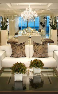 luxury homes, modern interior design, interior design inspiration . Luxury Interior, Home Interior Design, Interior And Exterior, Interior Decorating, Decorating Ideas, Gypsum Ceiling Design, Plafond Design, Design Salon, Design Hotel