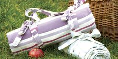 Celebrate the sunny weather with a gorgeous handmade picnic blanket. Find lots more craft ideas over on prima.co.uk