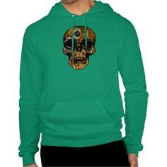 Steampunk Skull Sweatshirt